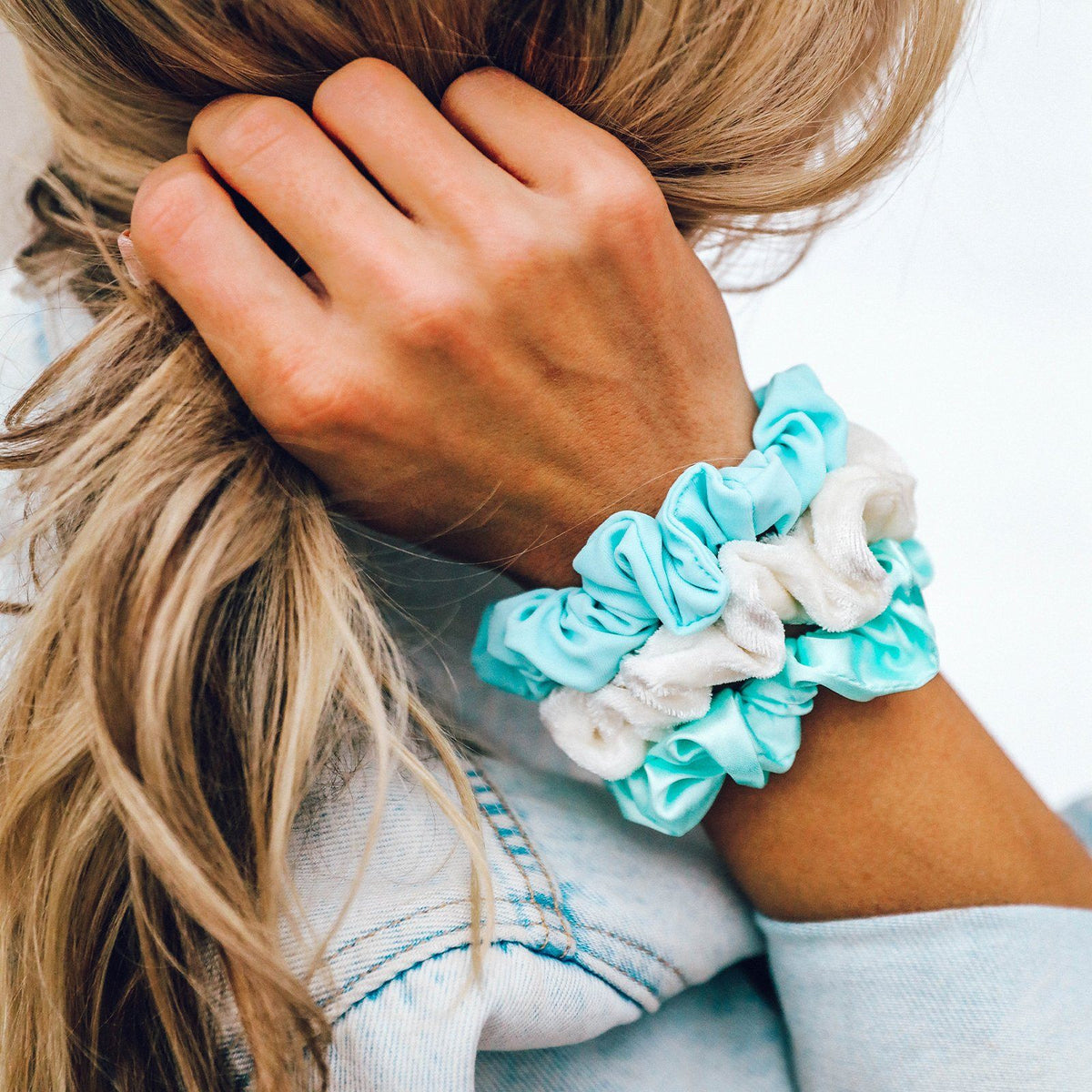 Wave Scrunchies (Set of 3) 2