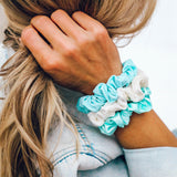 Wave Scrunchies (Set of 3) Image 2