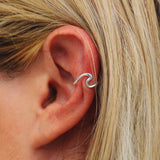 Wave Ear Cuff Image 3