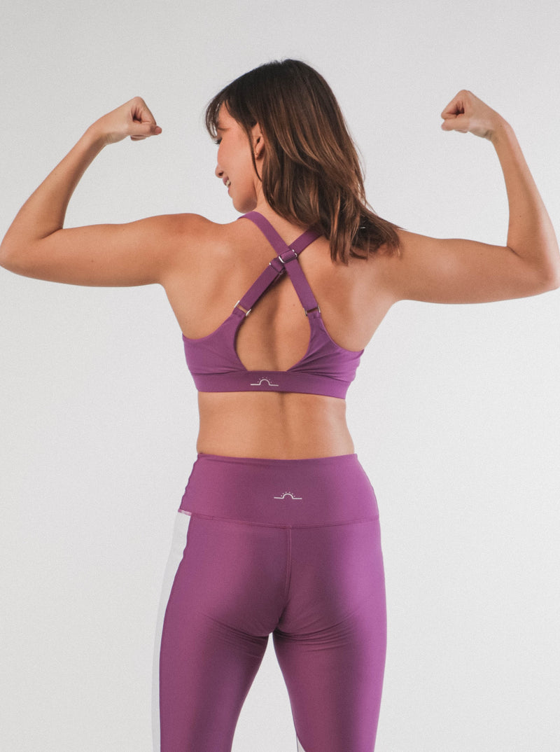 Get Strong Cross Bra - Sunnysix Active