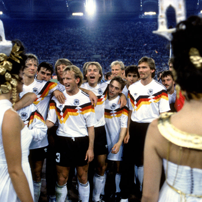 🇩🇪 Wheels & Automobiles - Die Mannschaft at Italia '90.