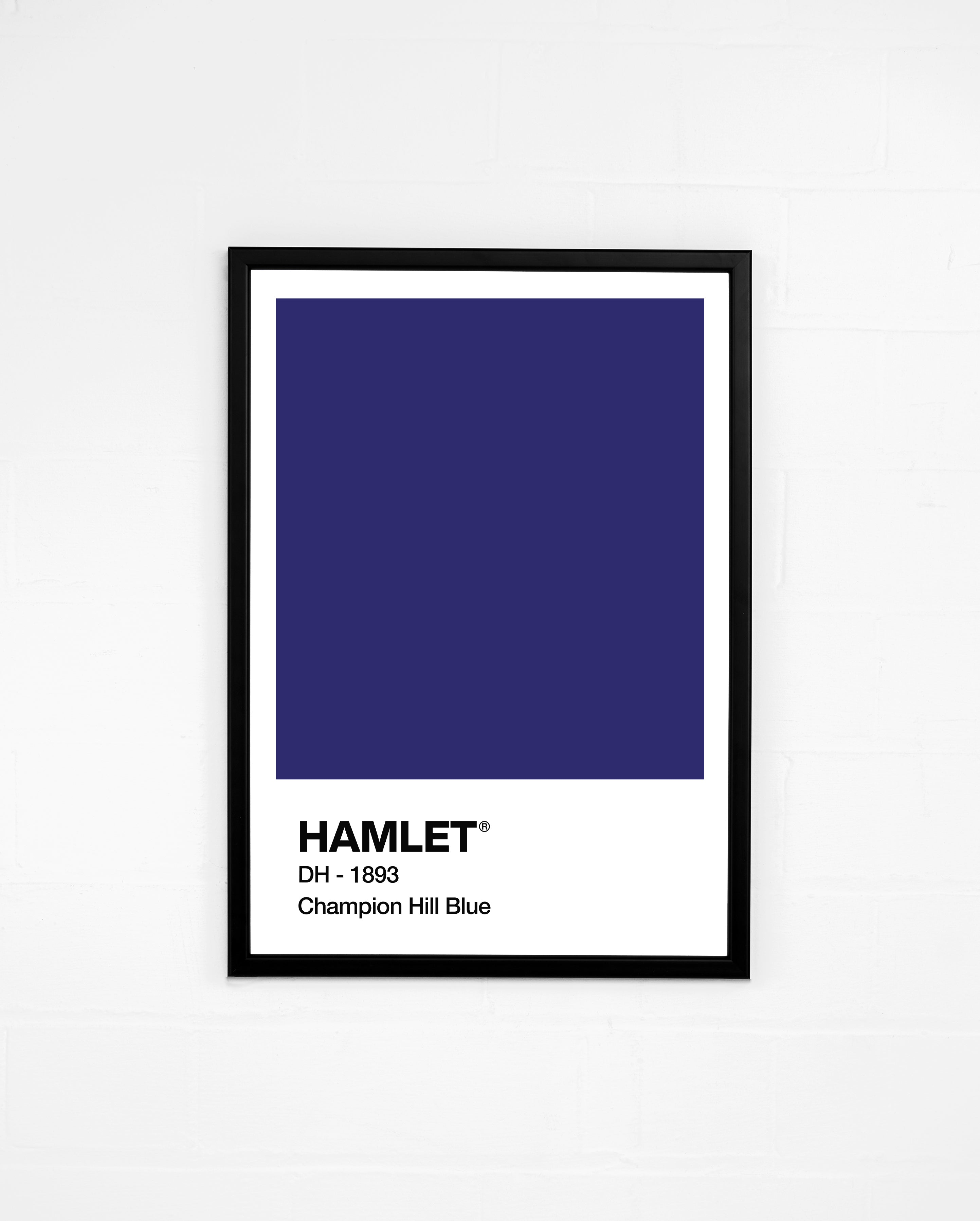 Hamlet Pink and Champion Hill Blue - Prints