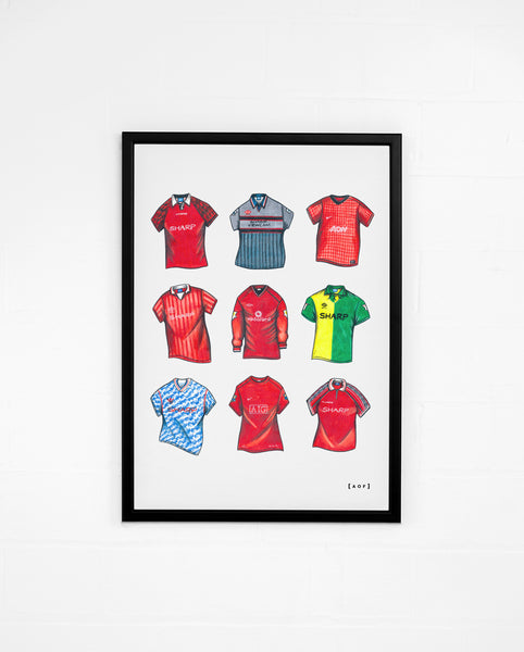 """MUFC Classics"" - Print or Canvas"