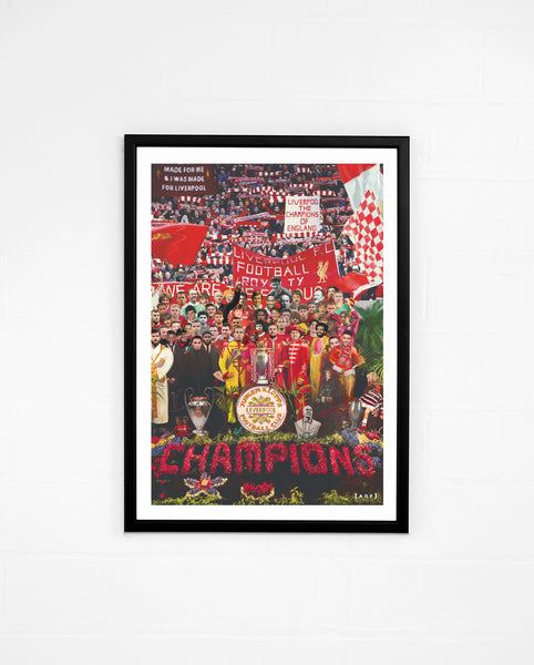 You'll Never Walk Alone (Champions Edition) - Print or Canvas