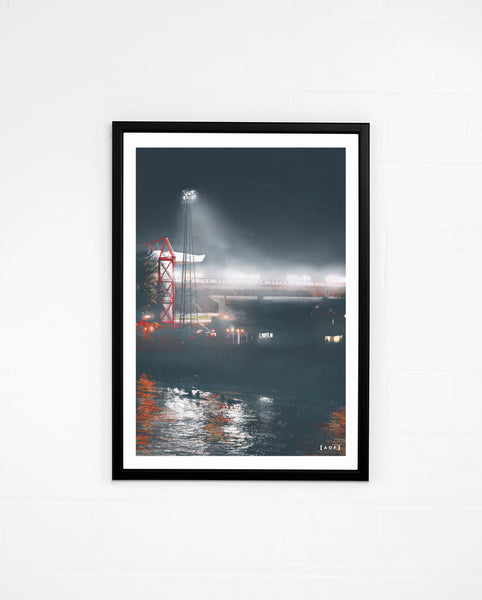 City Ground by Night - Print or Canvas