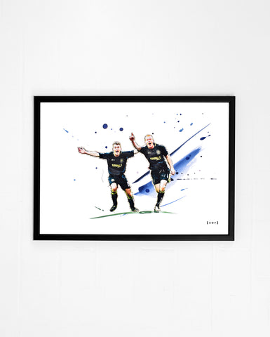 We Won The Cup - Print or Canvas