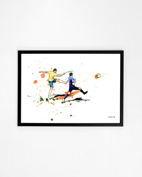 Socceroo Special - Print or Canvas
