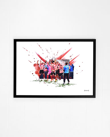 Up The Imps - Print or Canvas