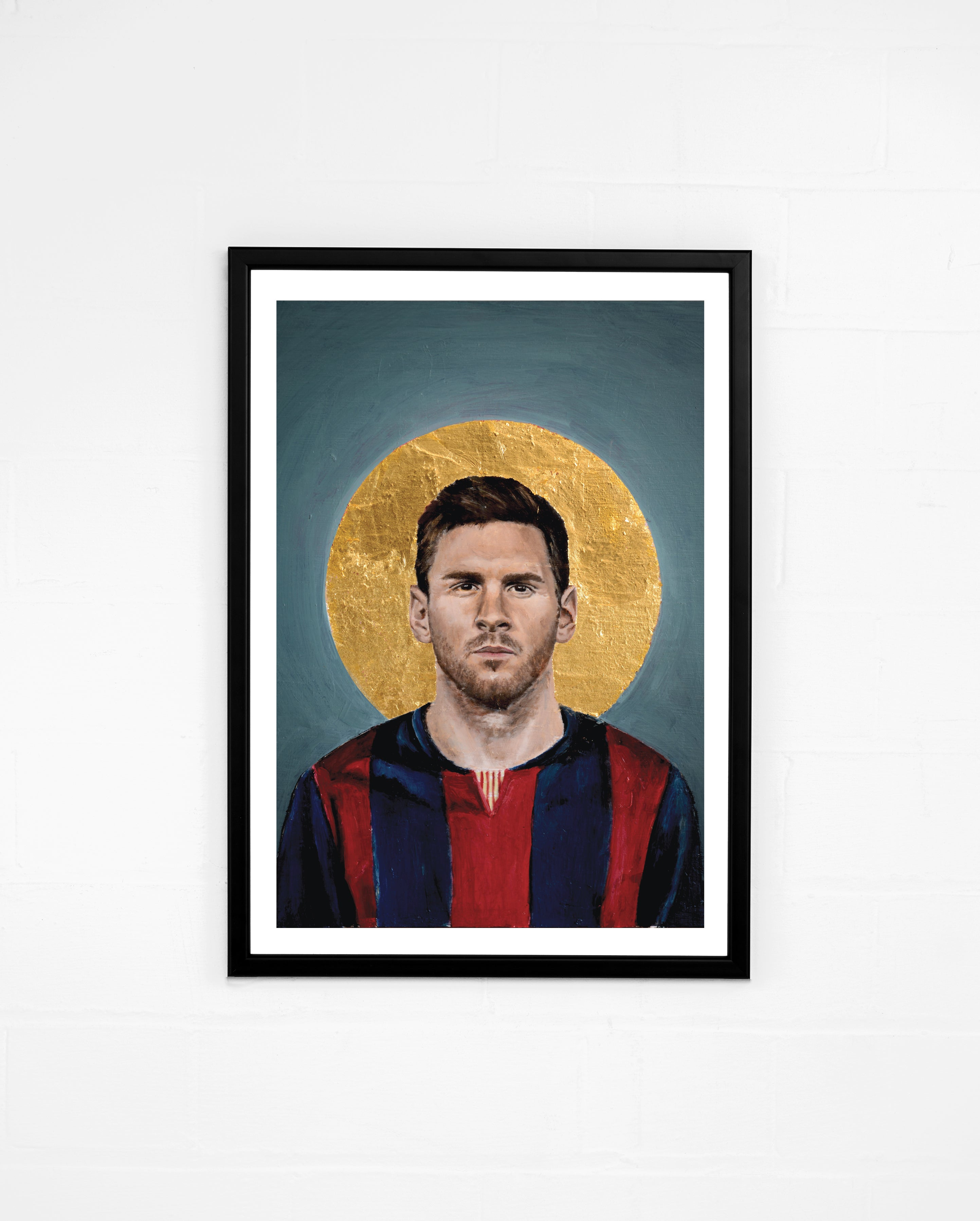 Icons, Messi - By David Diehl