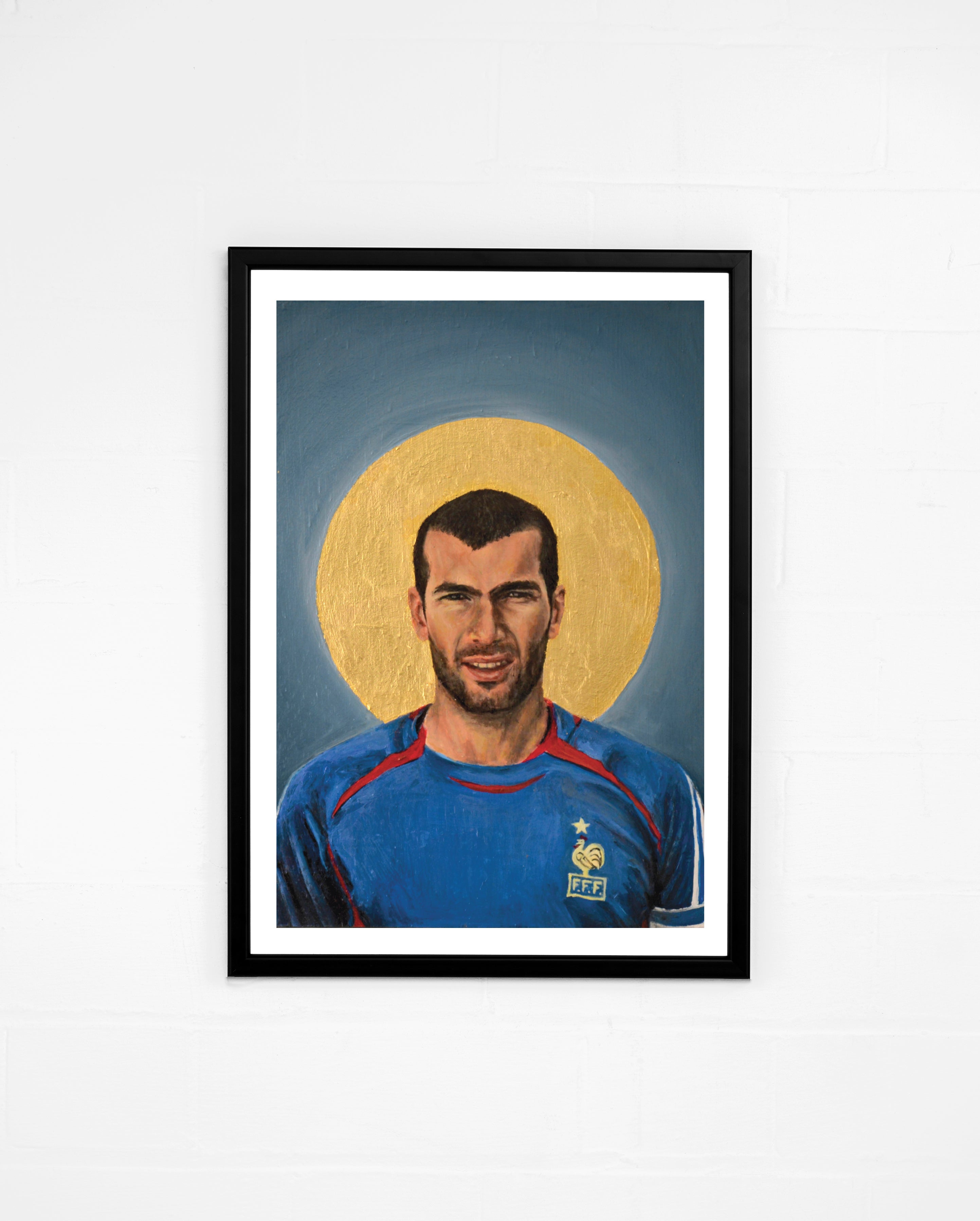 Icons, Zidane - By David Diehl