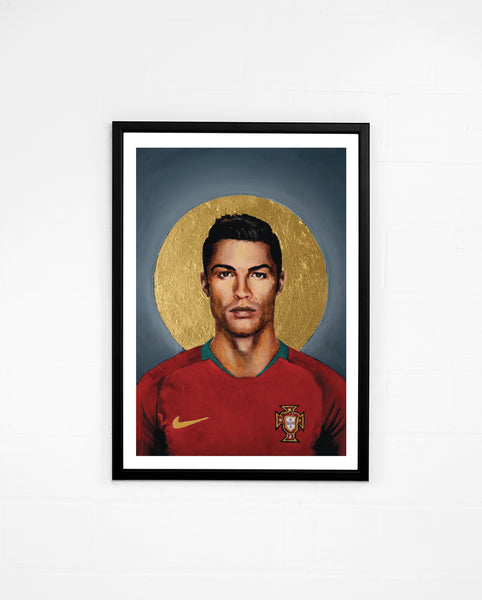 Icons, Cristiano Ronaldo - By David Diehl