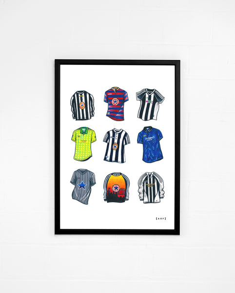 """NUFC Classics"" - Print or Canvas"