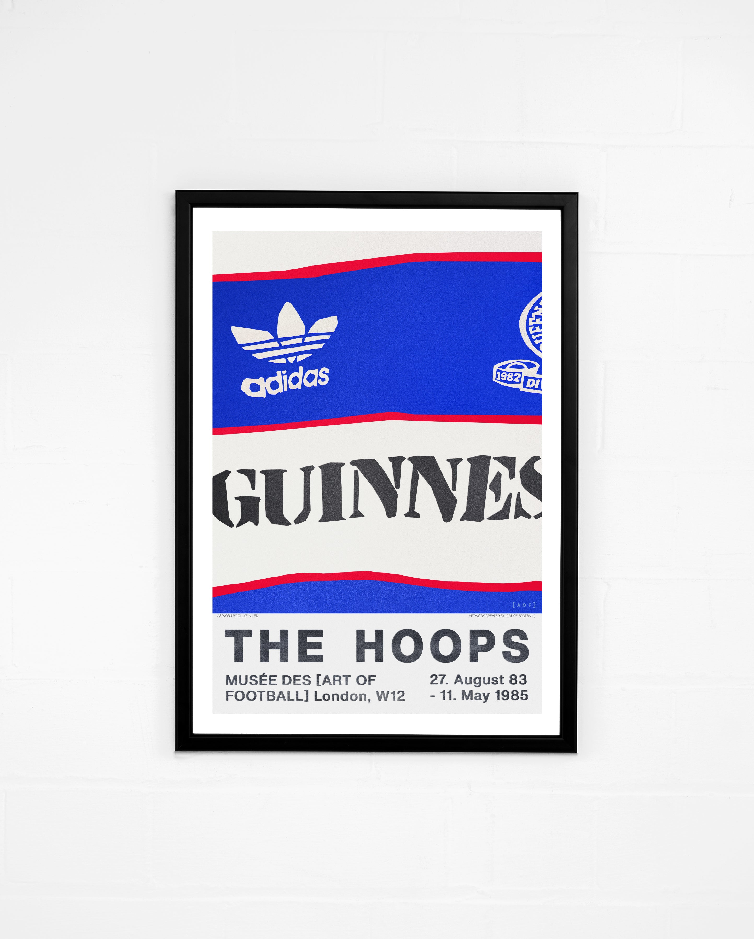 The Hoops 83/85 - Print or Canvas