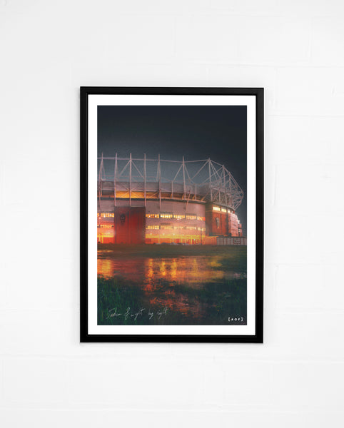 Stadium of Light by Night - Print or Canvas