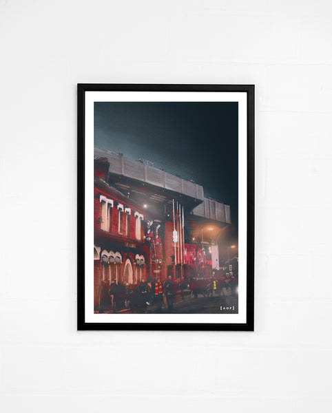 Anfield by Night - Print or Canvas