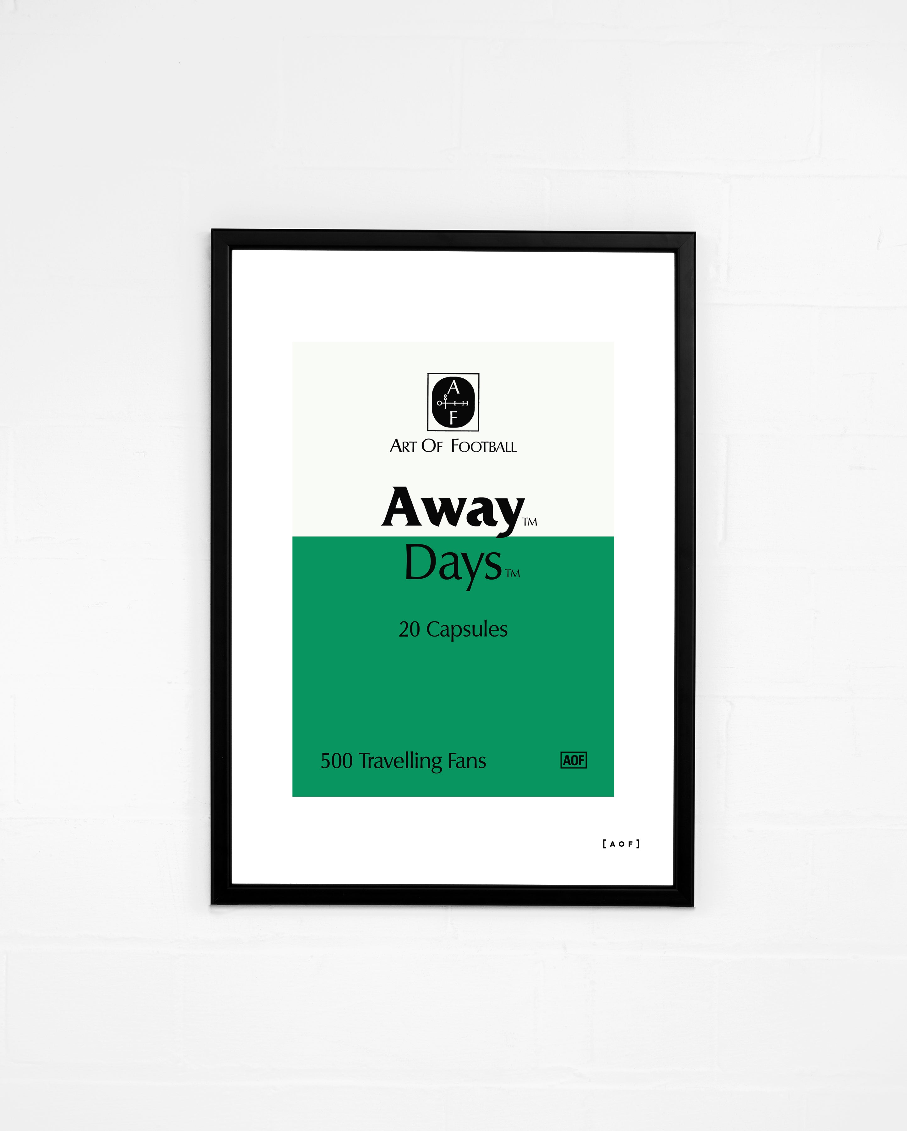 Away Days - Print or Canvas