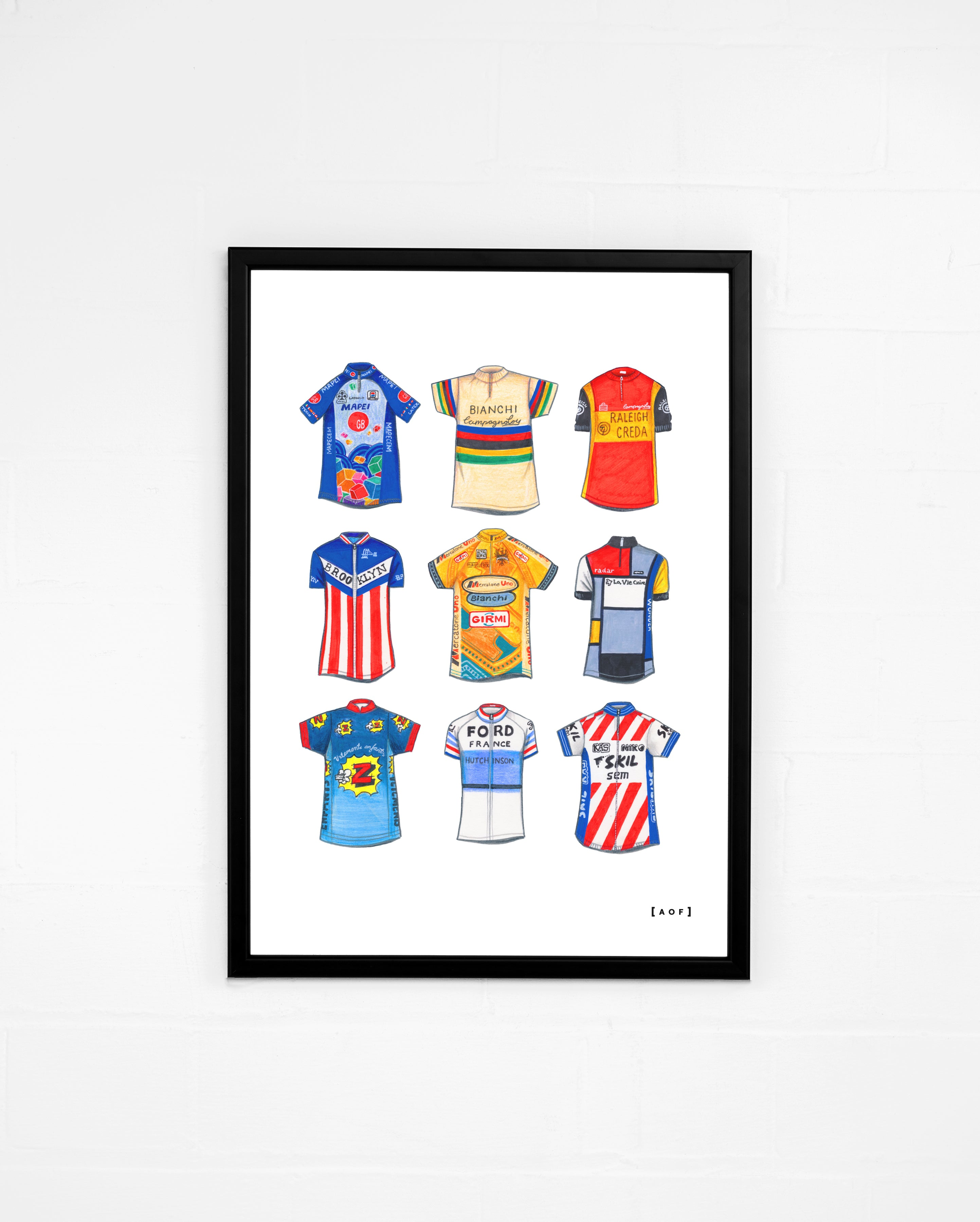 Cycling Classics - Print or Canvas