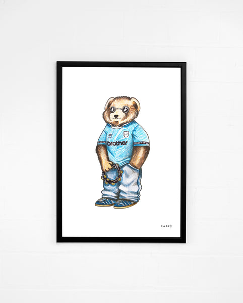 Blue Moon Pickles - Man City Print or Canvas