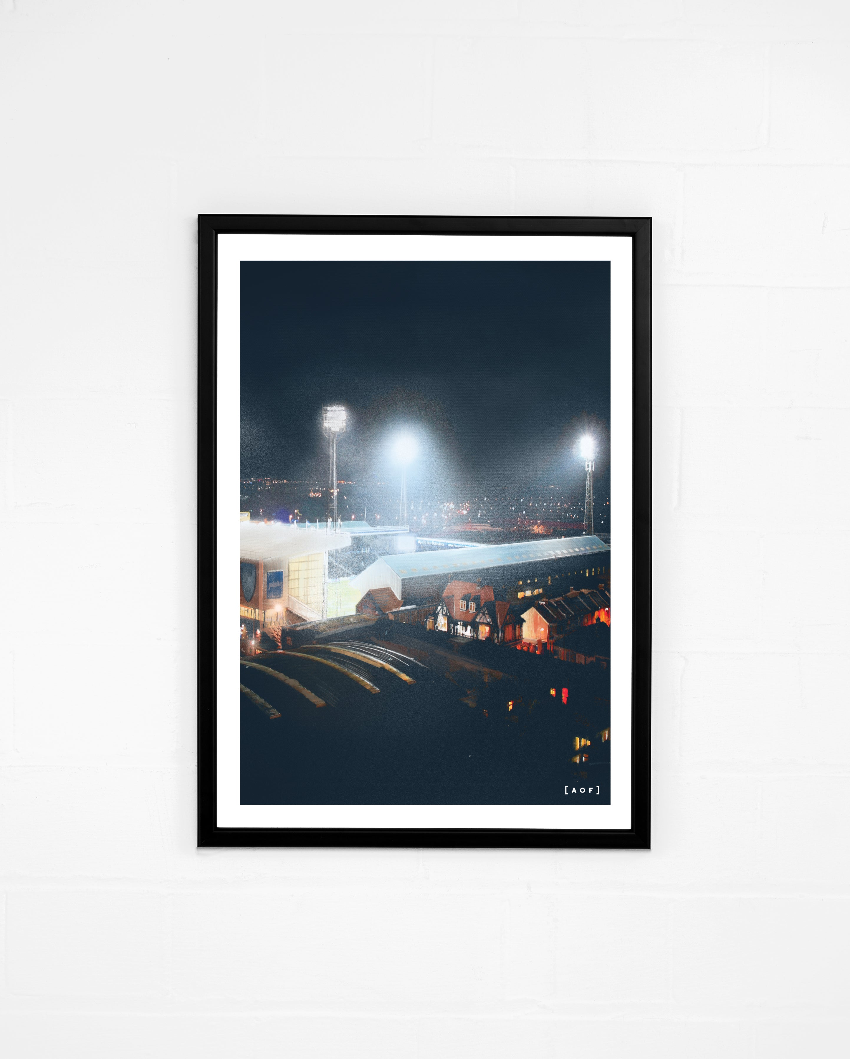 Fratton Park by Night - Print or Canvas