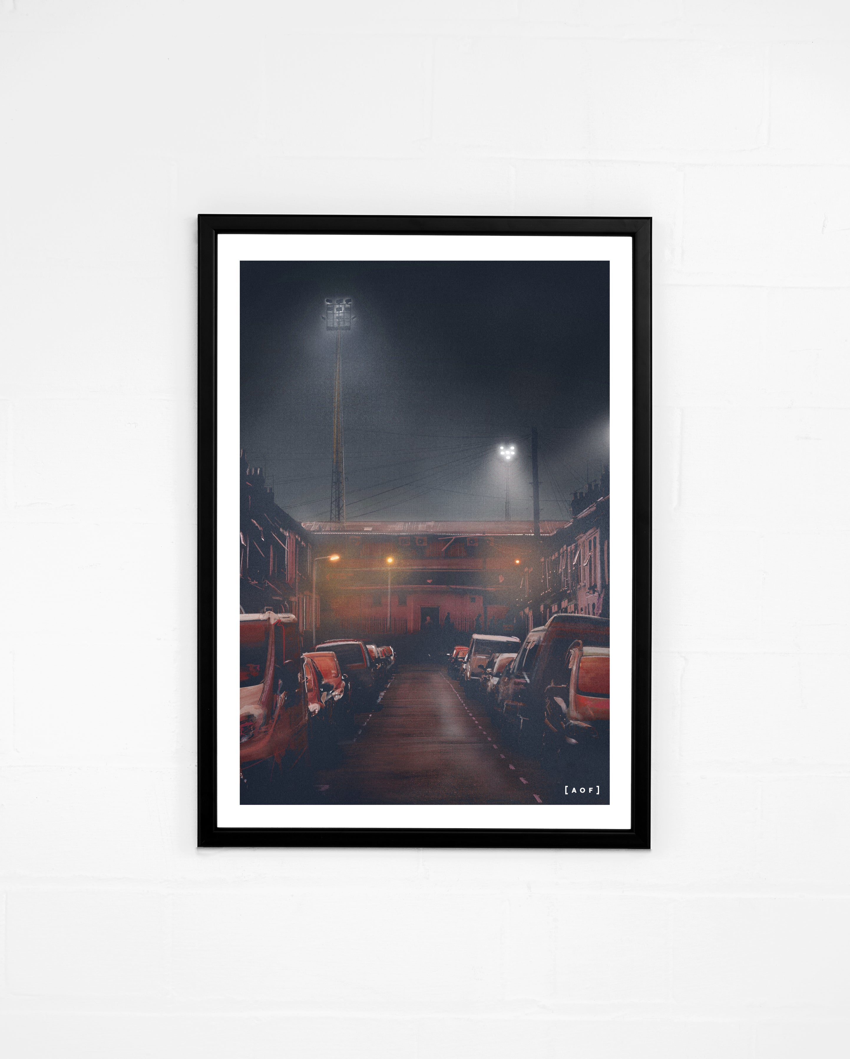 Kenilworth Road by Night - Print or Canvas