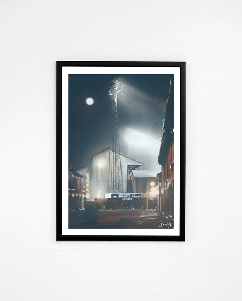 Baseball Ground by Night - Print or Canvas