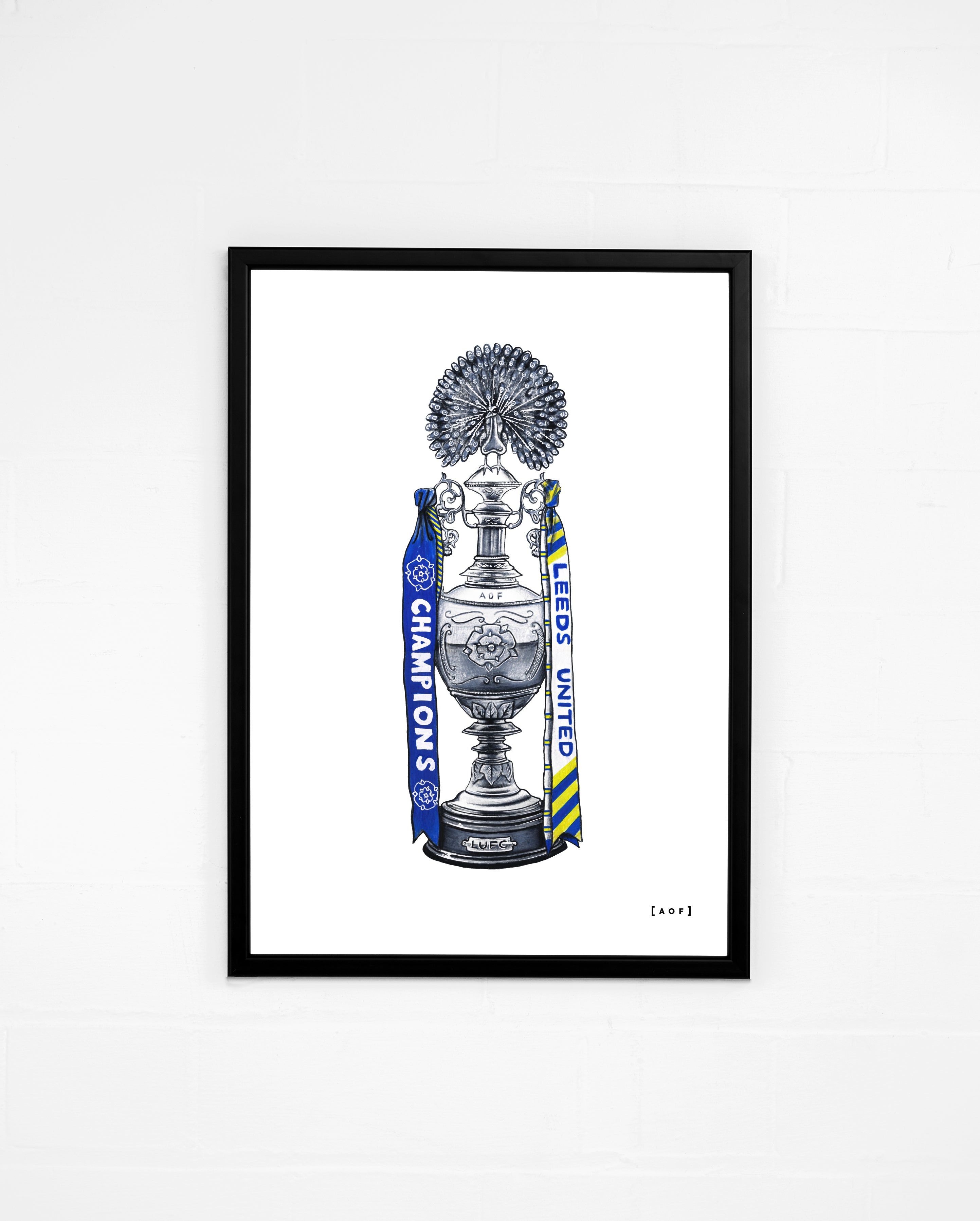 We Are The Champions (LUFC) - Print or Canvas