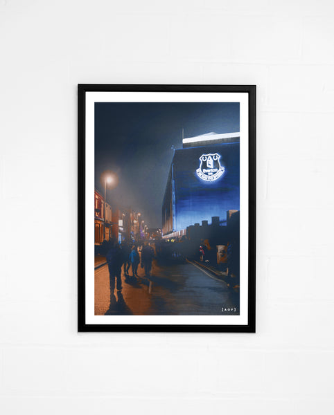 Goodison by Night - Print or Canvas