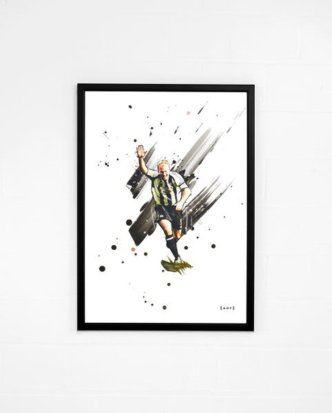 Alan Shearer - Print or Canvas
