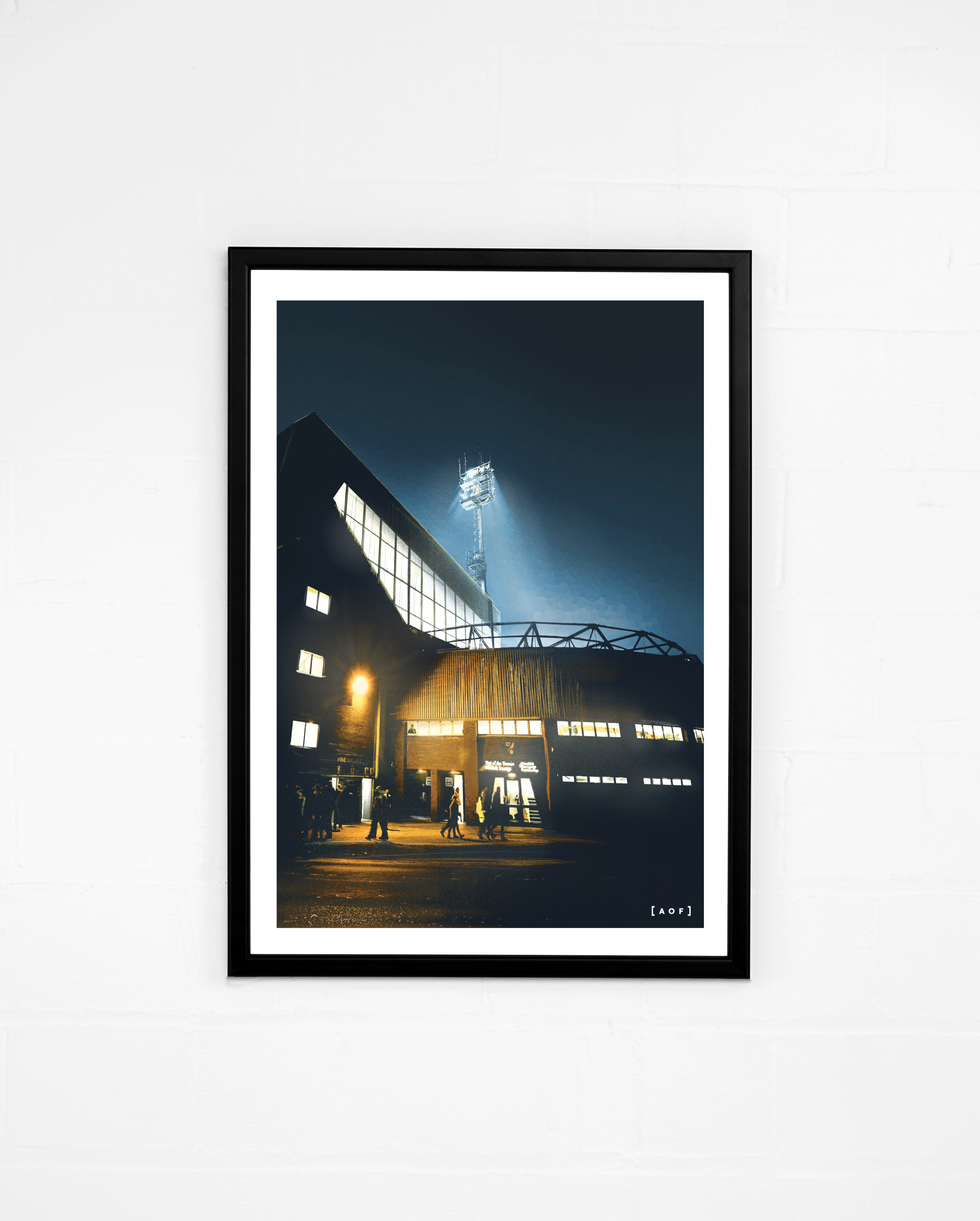 Carrow Road by Night - Print or Canvas