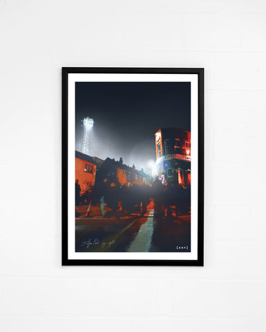 Griffin Park by Night - Print or Canvas