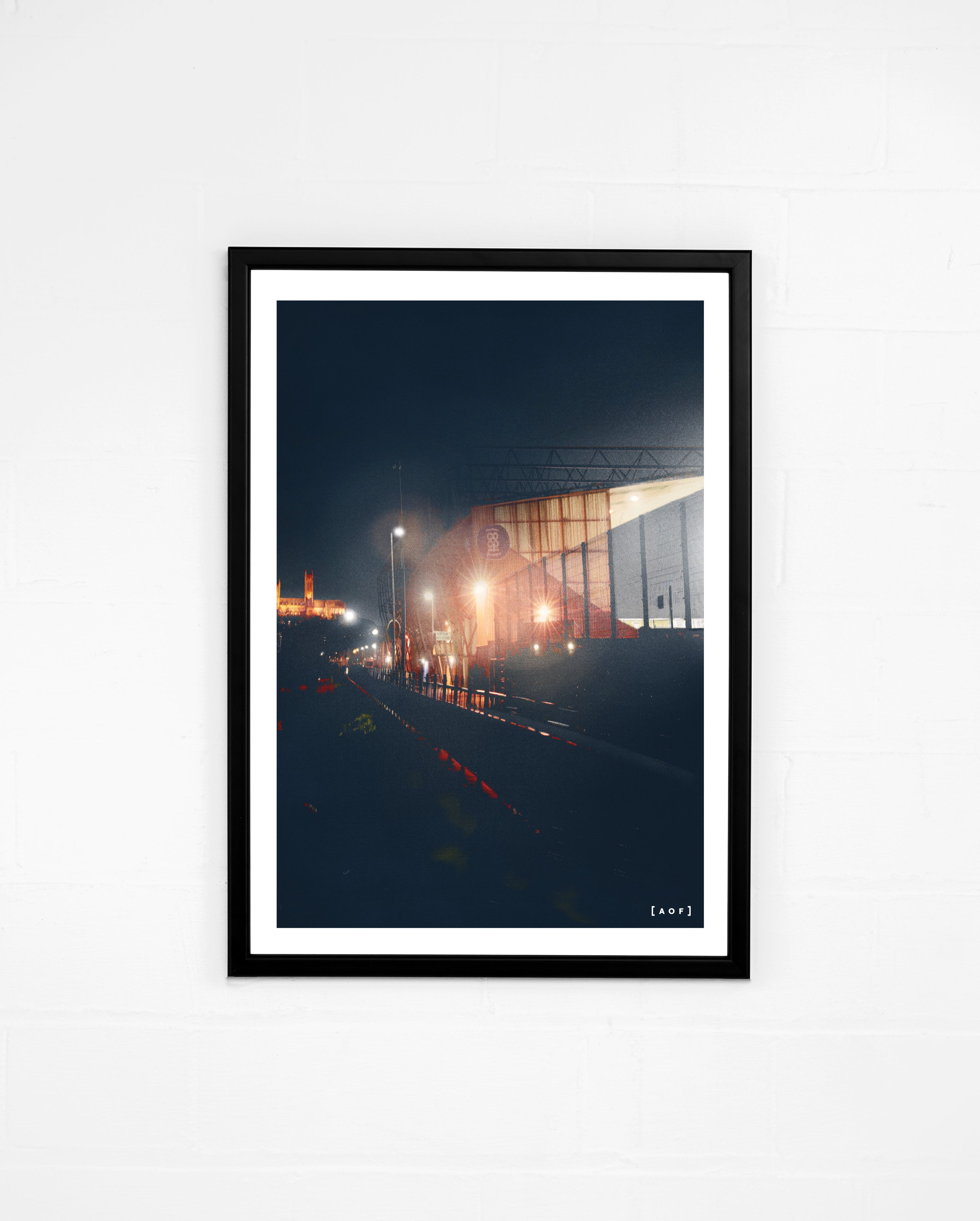 Sincil Bank by Night - Print or Canvas