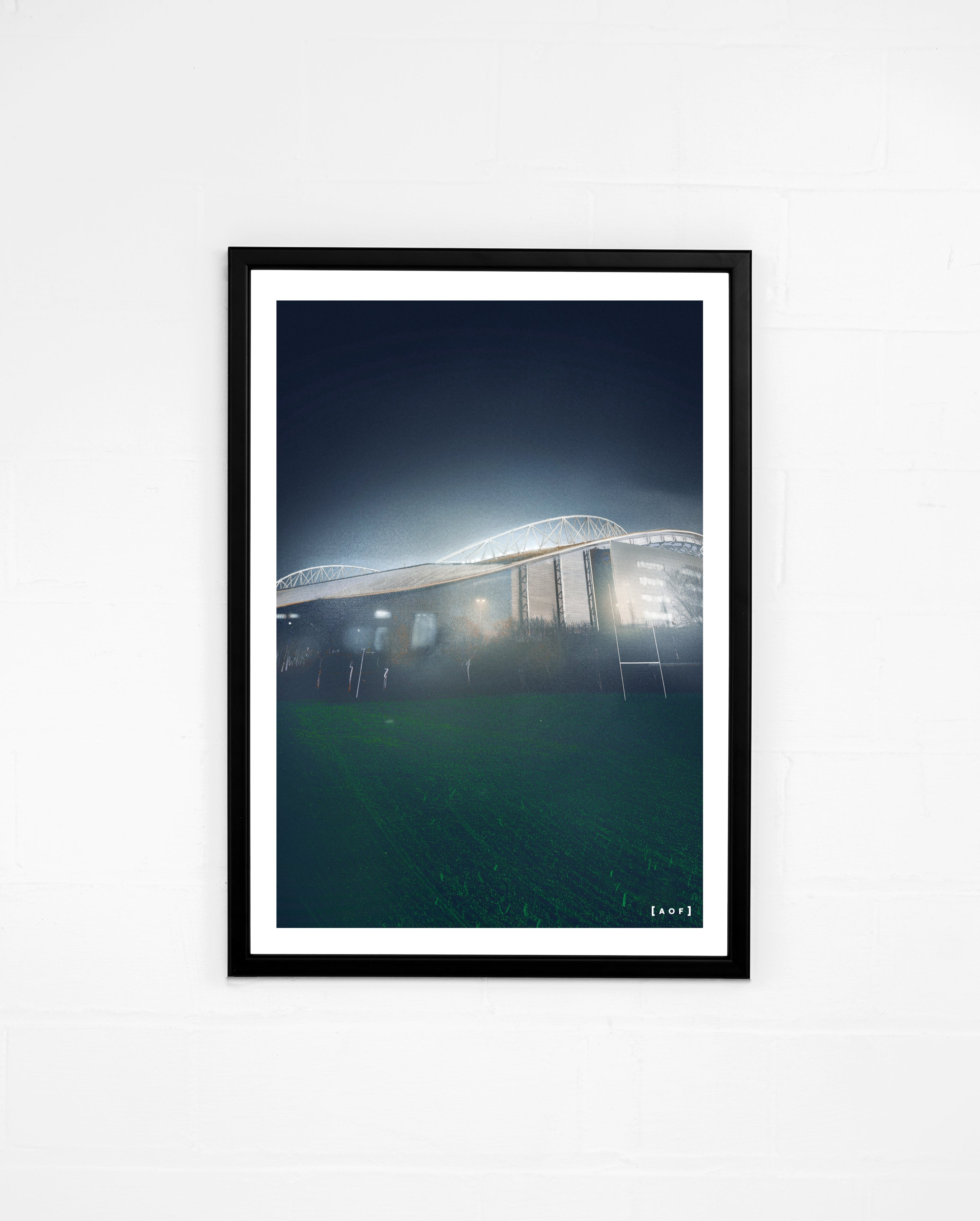 The Amex by Night - Print or Canvas