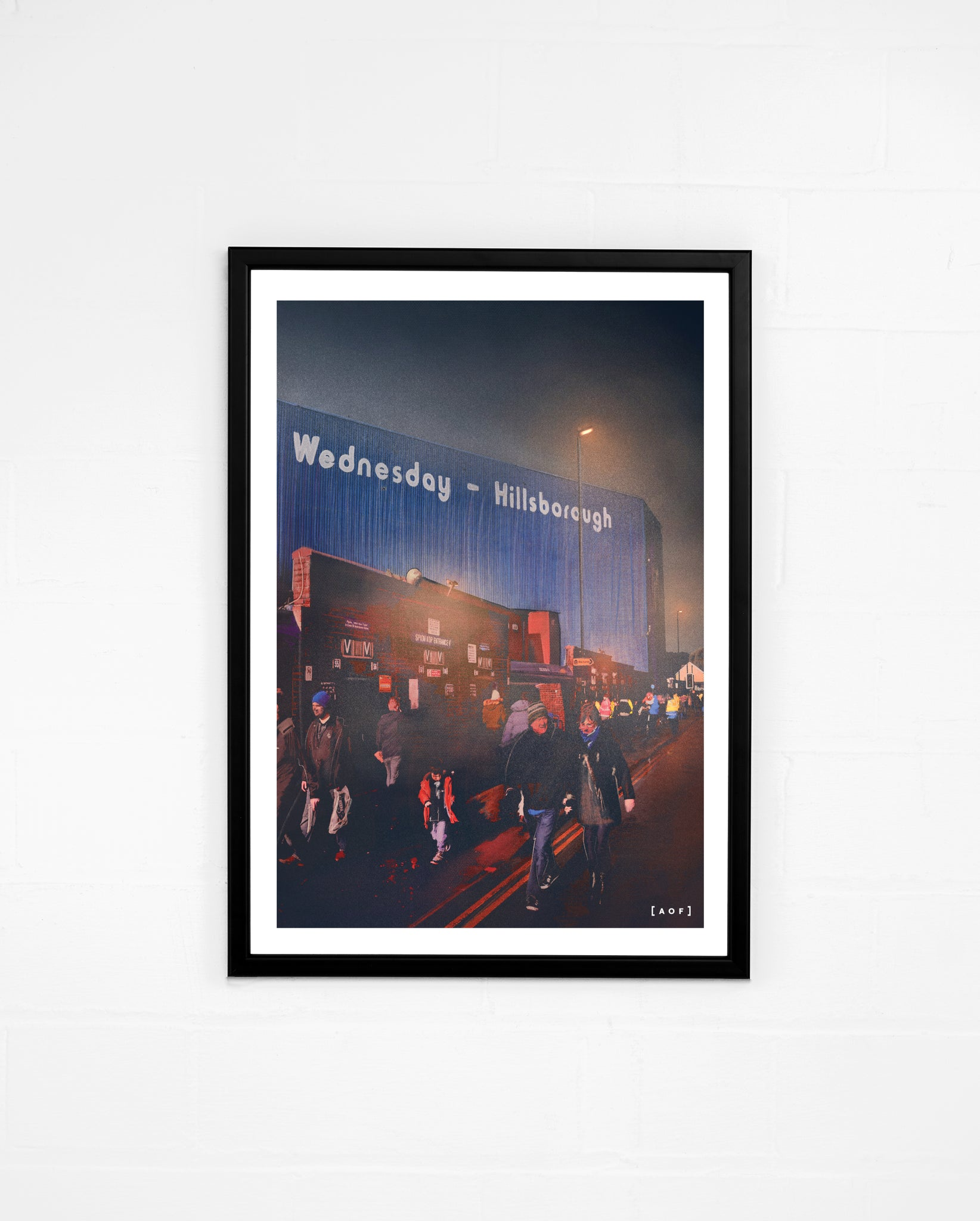 Hillsborough by Night - Print or Canvas