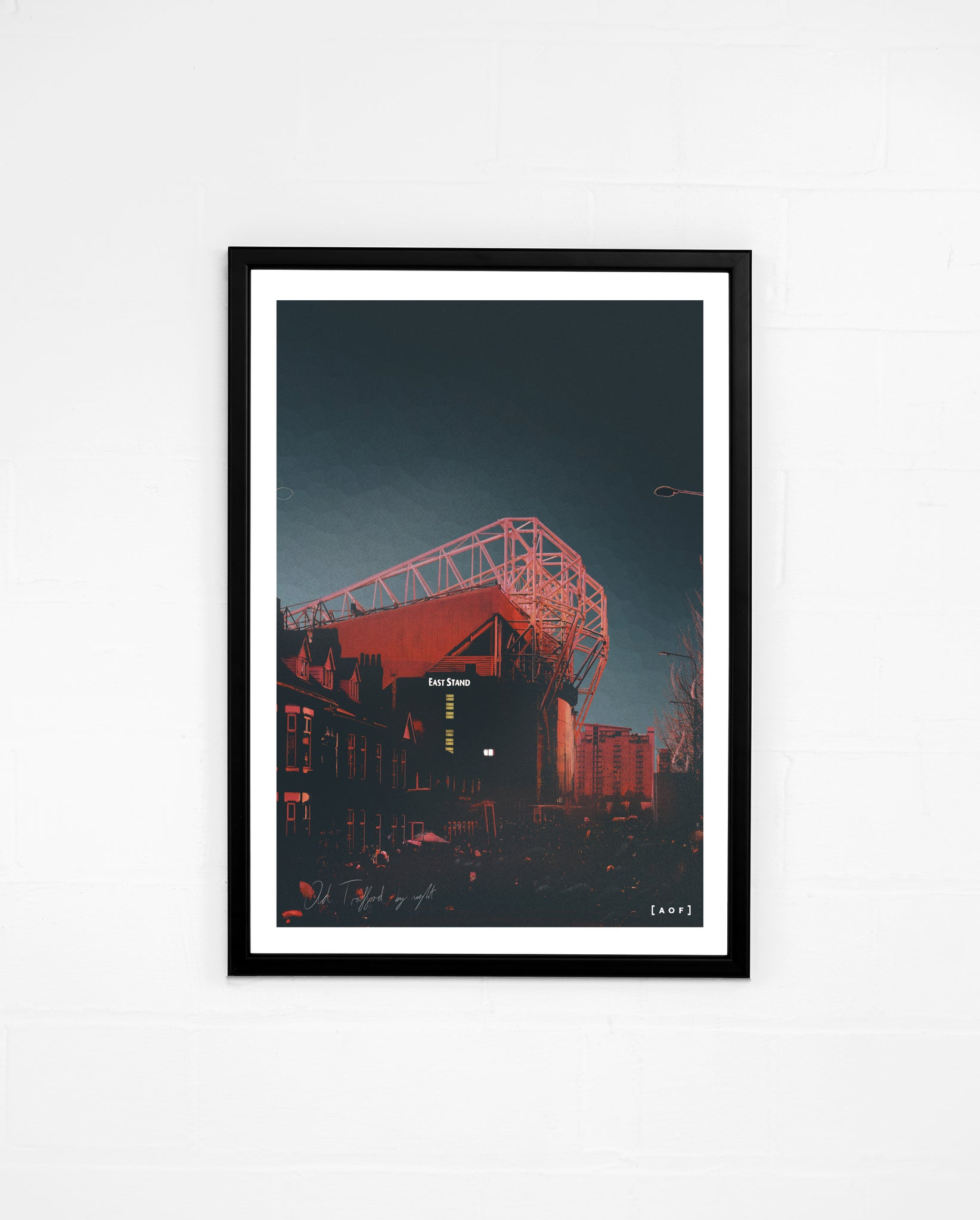 Old Trafford by Night - Print or Canvas