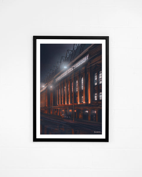 Ibrox by Night - Print or Canvas