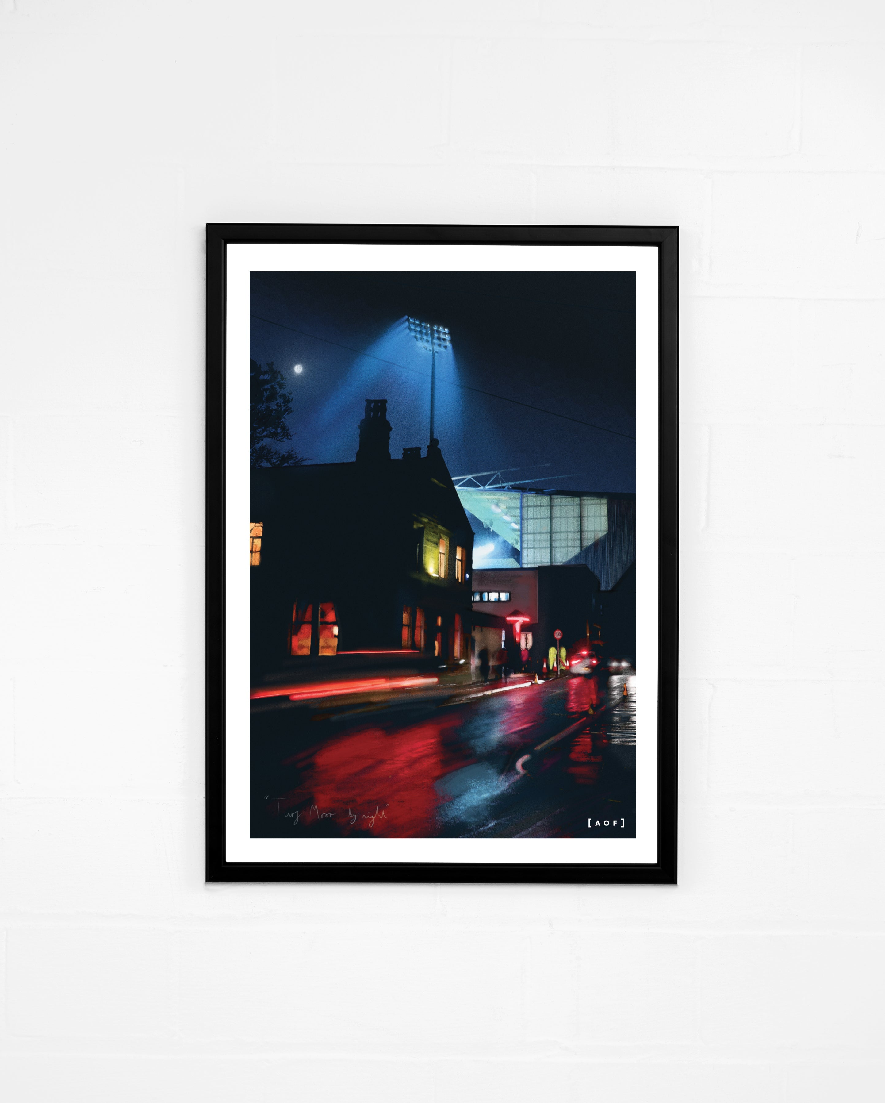 Turf Moor by Night - Print or Canvas