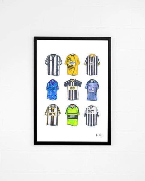 Magpies Classics - Print or Canvas