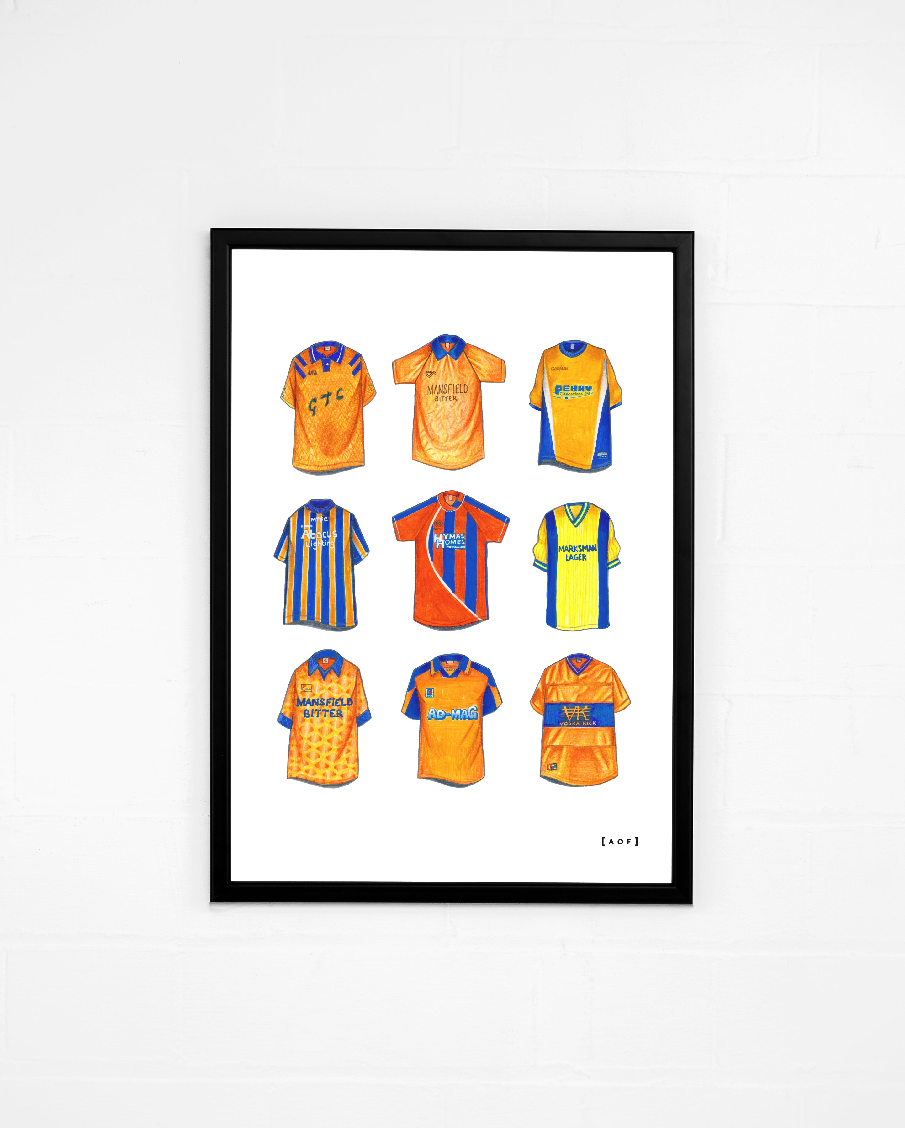 MTFC Classics - Print or Canvas