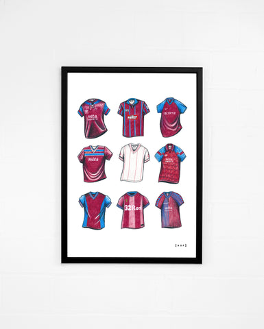 """AVFC Classics"" - Print or Canvas"