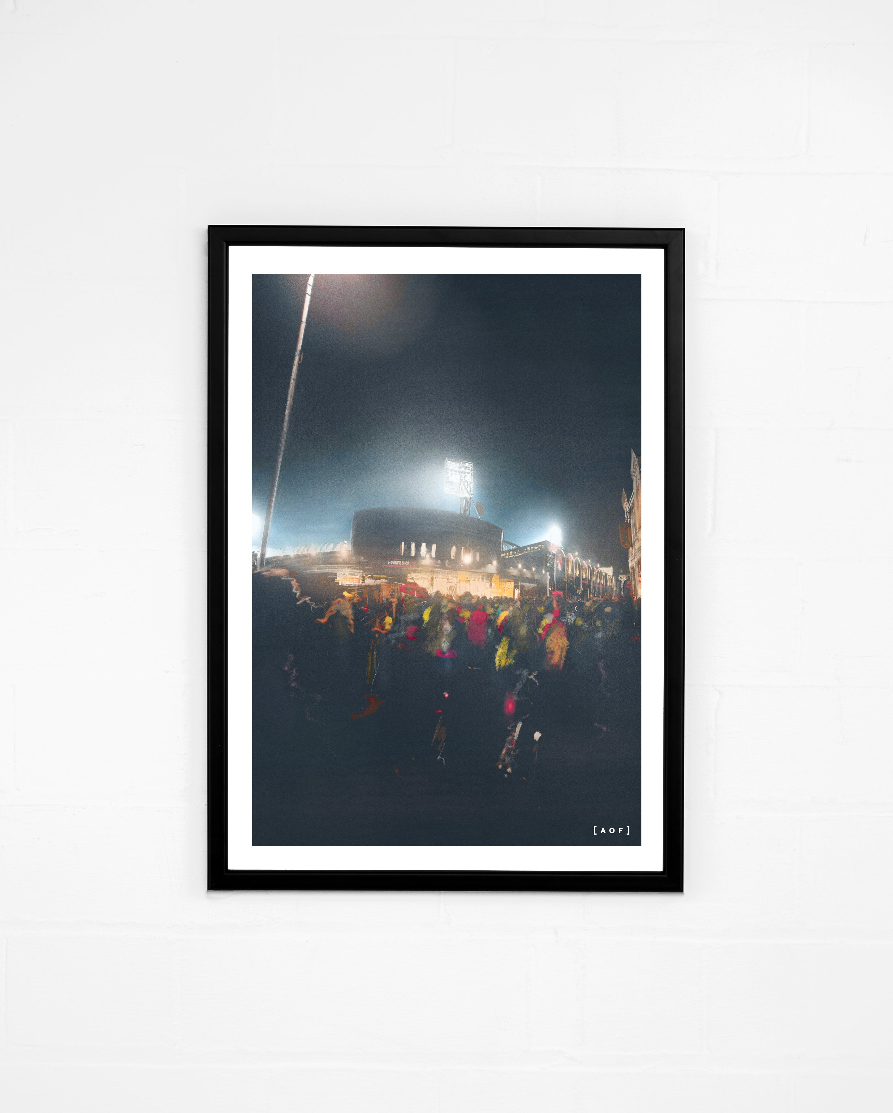 Vicarage Road by Night - Print or Canvas