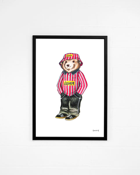 Pickles the Blade - Sheffield United Print or Canvas