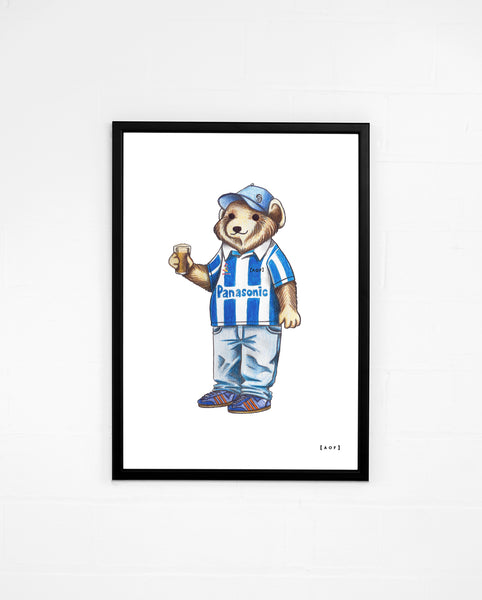 Pickles The Terrier - Huddersfield Town Print or Canvas