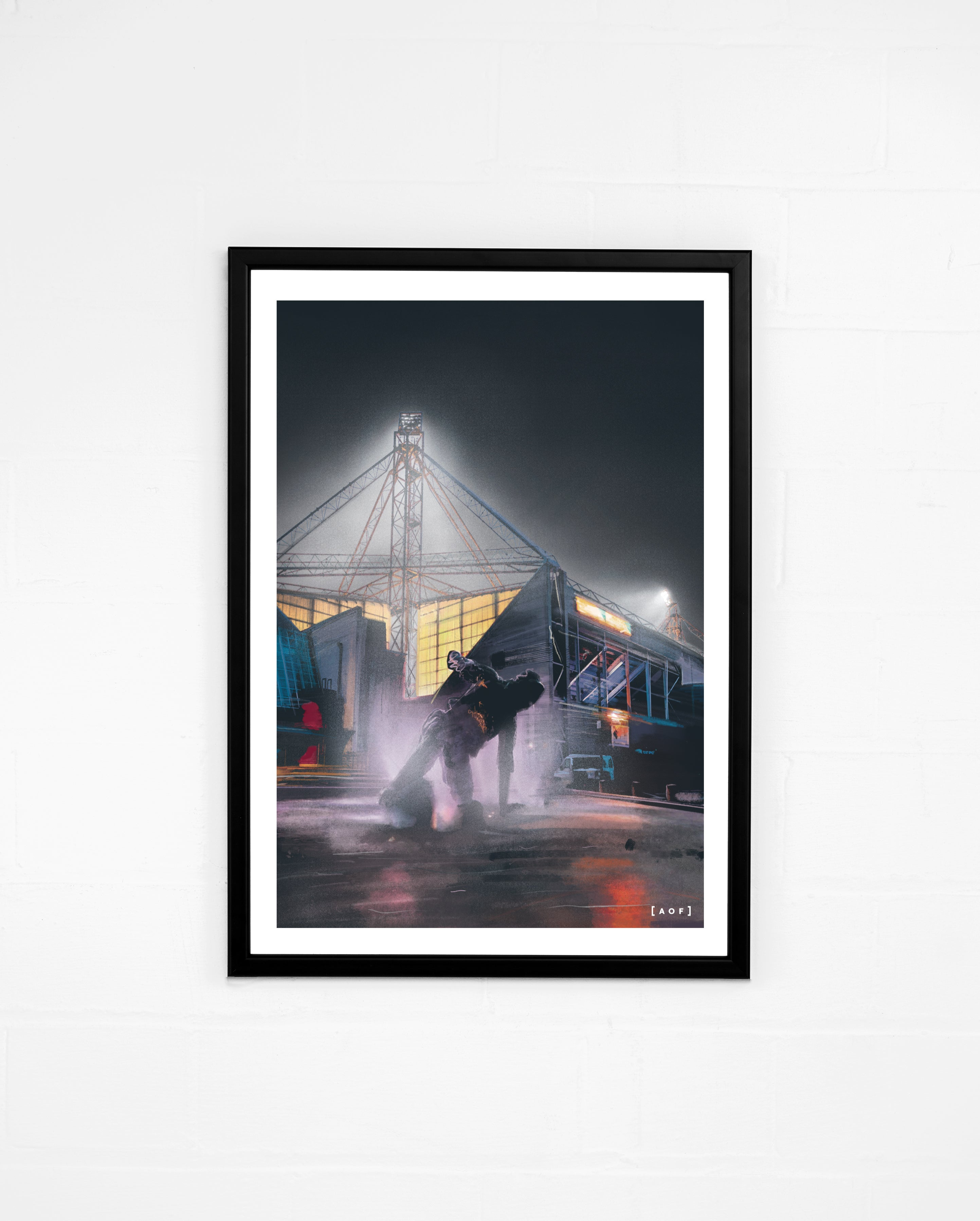 Deepdale by Night - Print or Canvas