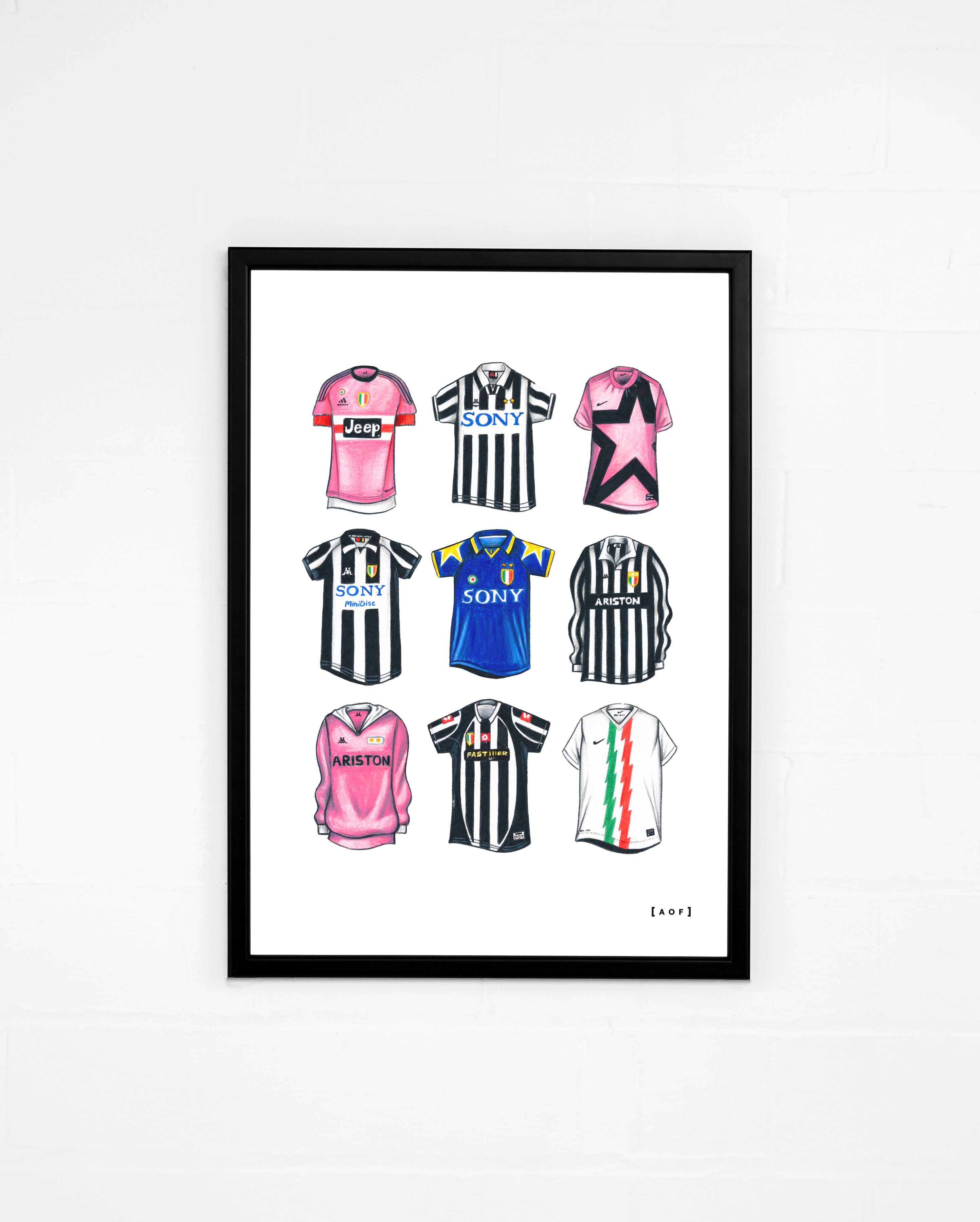 "Juventus Classics"" - Print or Canvas"