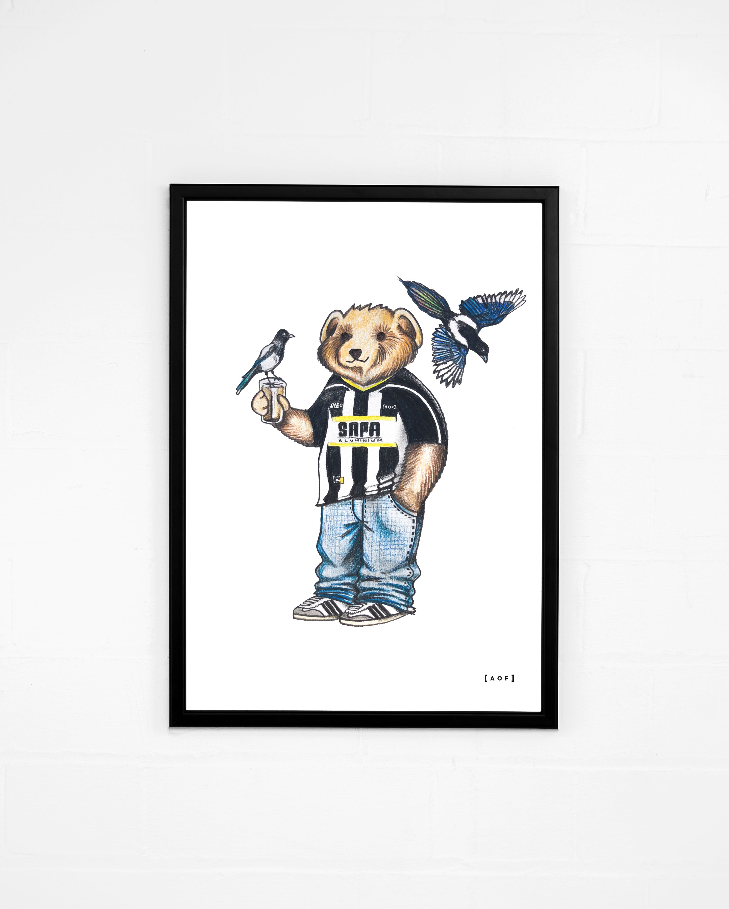 Meadow Lane Pickles - Notts County Print or Canvas