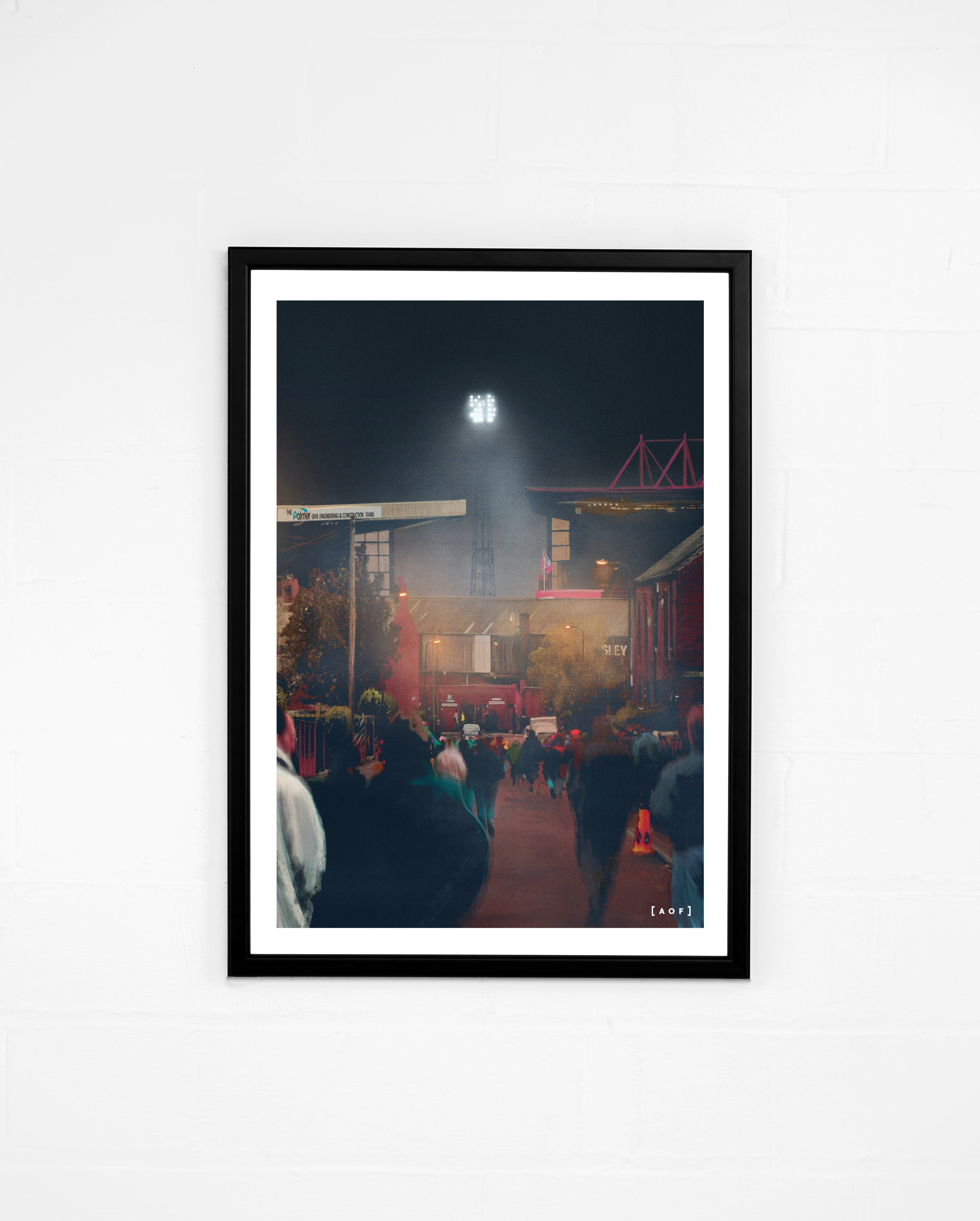 Oakwell by Night - Print or Canvas