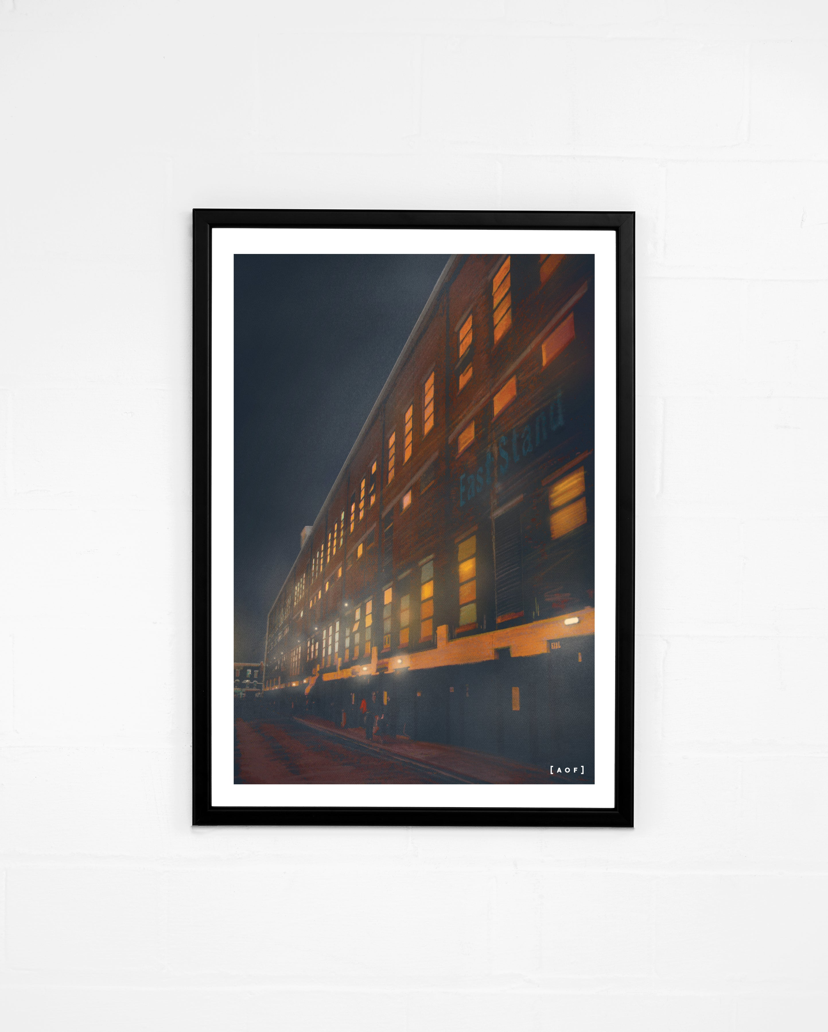 White Hart Lane by Night - Print or Canvas