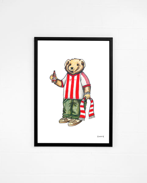 Pickles The Imp - Lincoln City Print or Canvas