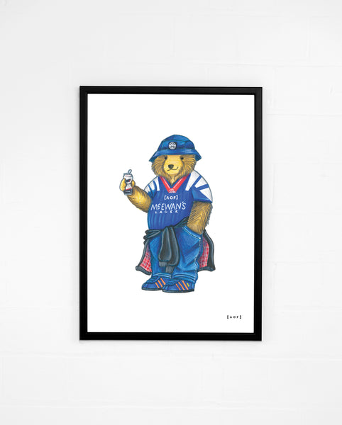 Ibrox Pickles - Rangers Print or Canvas