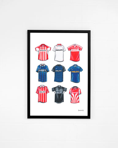 """PSV Eindhoven Classics"" - Print or Canvas"